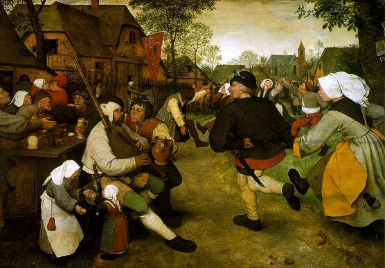"Pieter Bruegel ""The Peasant Dance"""
